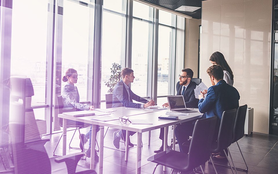 Image of a boardroom meeting - representing how Accountivity can help businesses grow and attract new talent