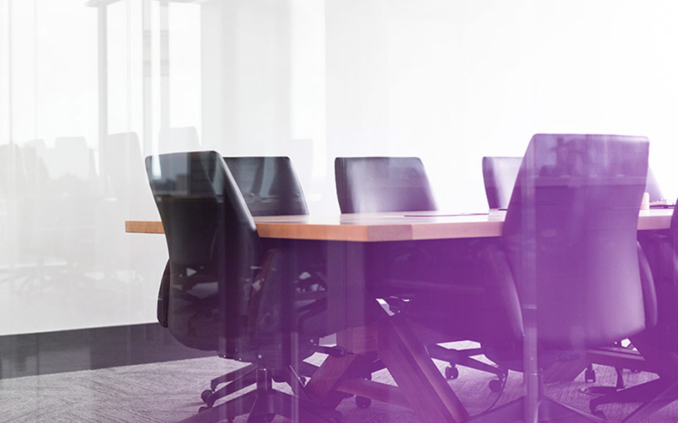 Image of an empty boardroom, representing how Mier Accountivity can boost your potential with the best candidates
